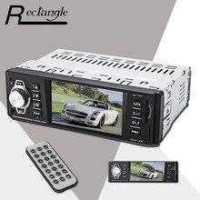 4.1 Pulgadas Incorporado 1 Din Coche Mp5 de Navegación de Vídeo MP3 Soporte de Control Remoto USB SD AUX FM Radio Audio Car Styling
