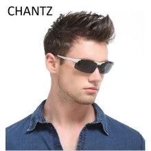 Polarized driving sunglasses for men with aluminium magnesium alloy frame eyeglasses spring hinge lunette de soleil homme