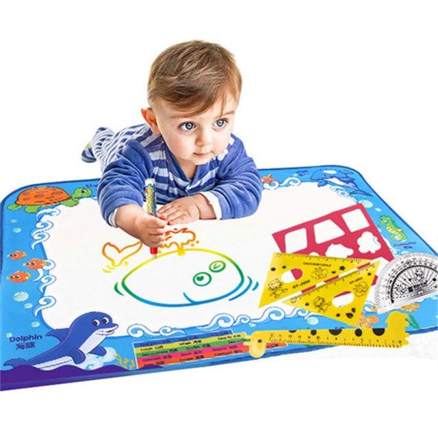 Детская магия воды холст одеяло написать граффити pen doodle игрушка творческий для Игрушки Живопись
