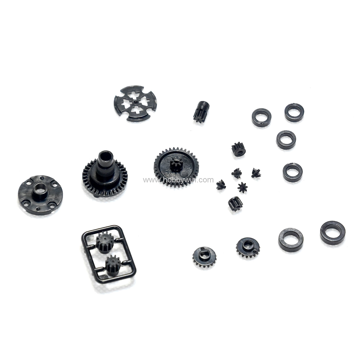 Hbx Part Gears Bushes For Haiboxing 1 24 Scale Rc