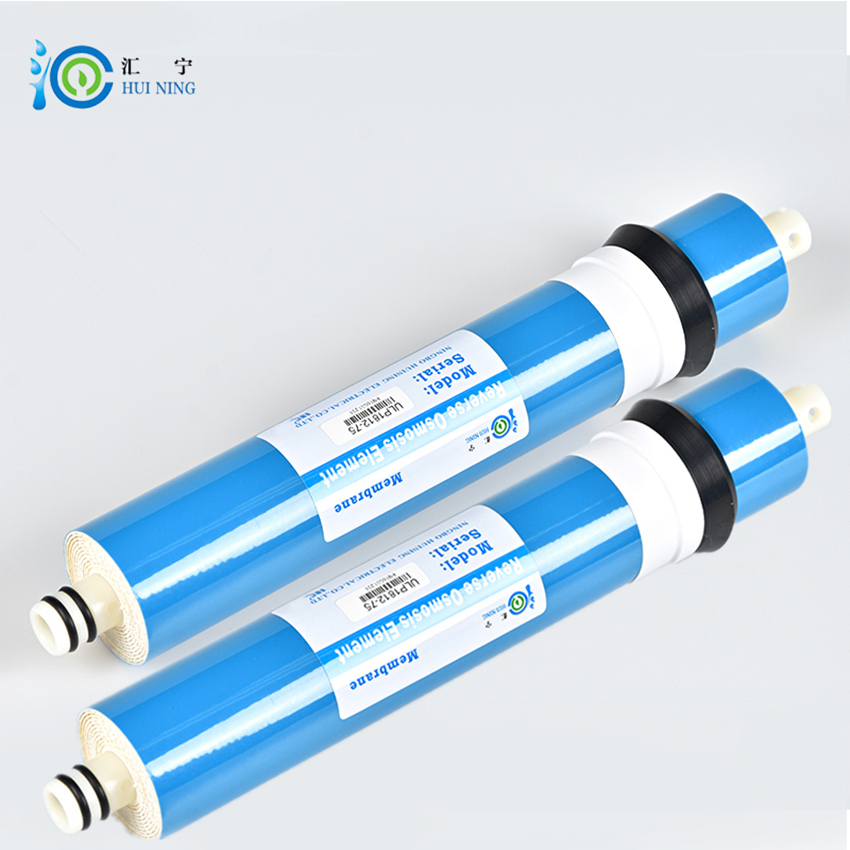 2 pcs 75gpd ro membrane water purifier filter cartridge ro membrane and high quality treatment revers for System Reverse Osmosis