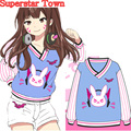 Harajuku Japanese Kawaii Hoodies Anime Women Sweatshirts Winter Long Sleeve Moletom Women Clothing 2017 Superstar Town
