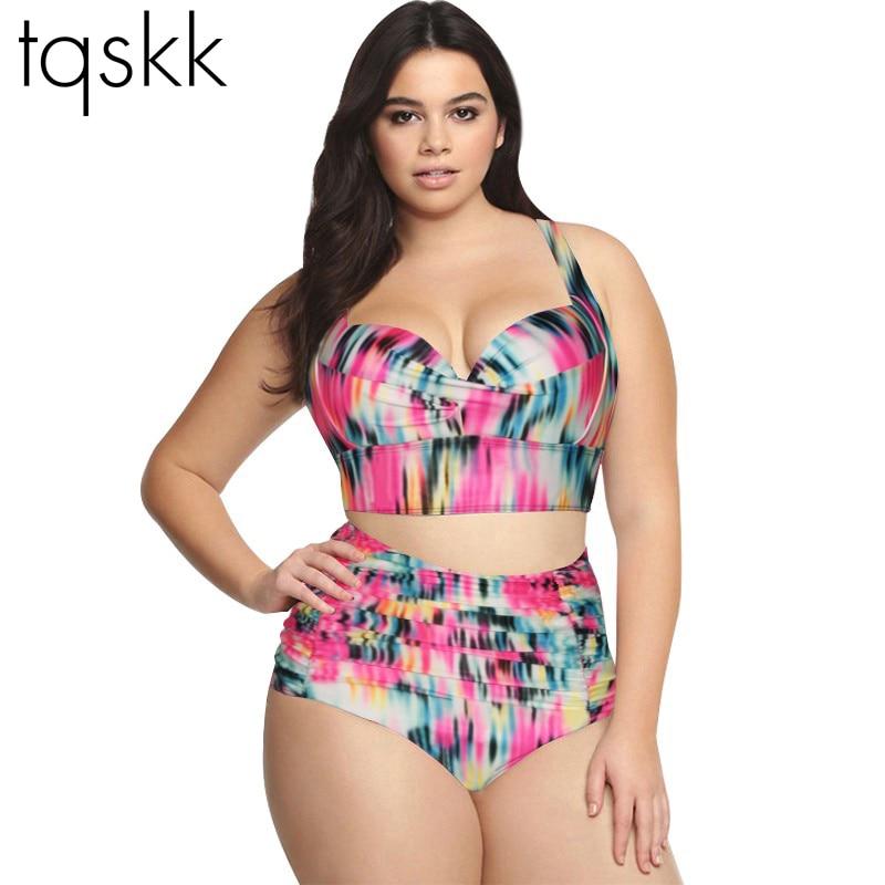 Aliexpress.com : Buy TQSKK High Waist Swimsuit 2016 New ...
