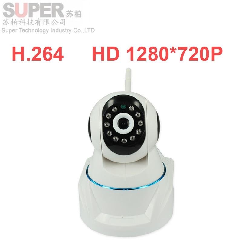 ФОТО X7100 hd 720p cctv Camera wireless P2P camera 1.0MP IP CAMERA Plug&Play IR Cut Night Vision Pan/Tilt 2Way Audio PTZ control cctv