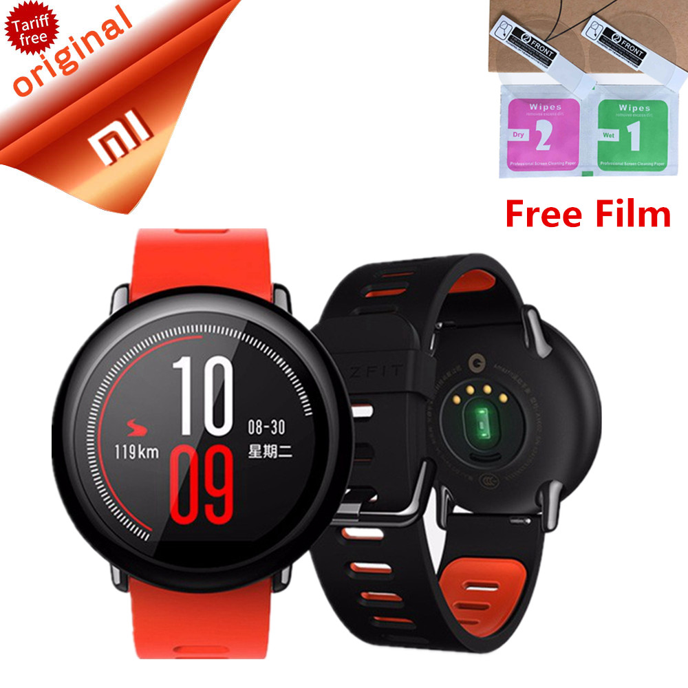Original Xiaomi Watch English Version AMAZFIT Sports Smart Watch IP67 Waterproof
