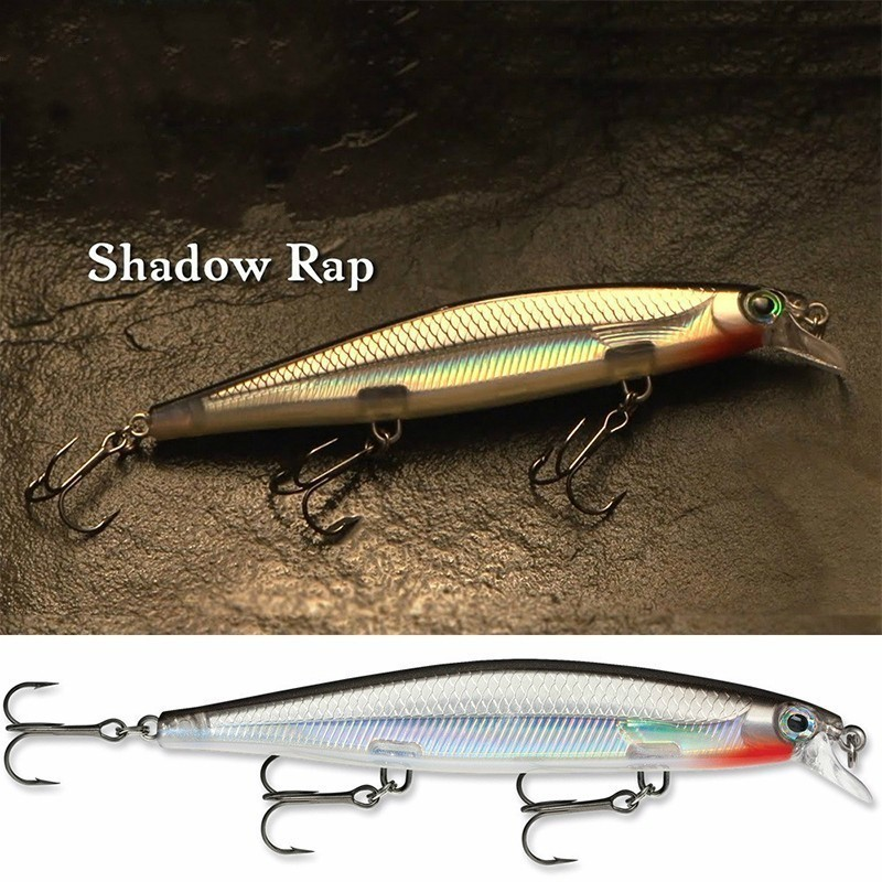 2019 Artificial Jerkbait 11cm 15g Minnow Lure Wobbler Fishing Lure High Quality Hooks Shallow Diving Suspending-in Fishing Lures from Sports & Entertainment
