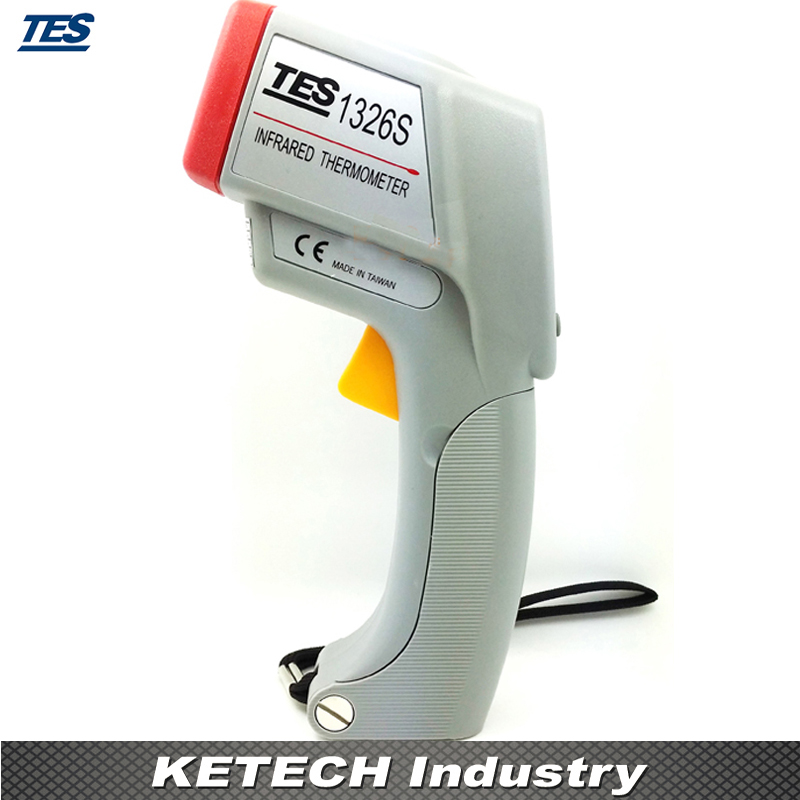 TES-1326S Infrared Laser Thermometer tes 1326s industrial infrared thermometer 35 500c