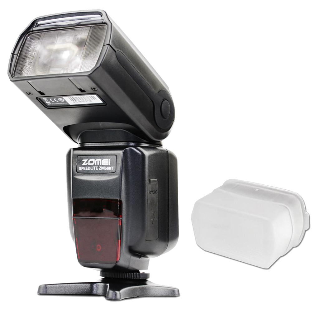 Camera Speedlight Flash Speed Light with LCD Screen for Canon Camera ZM-560T