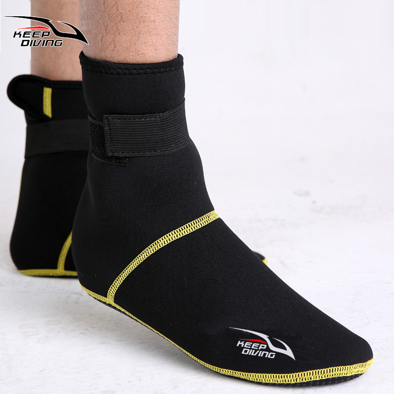 Water Sports Bare Scuba Diving Snorkeling Booties 3mm Bare Feet Wetsuit Boot