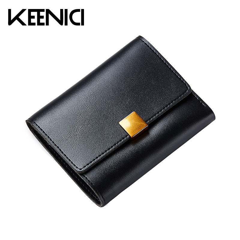 Fashion Retro Multi-card Bit Coin Purse Pu Leather Women Wallet Mini Clutch Card Holder Womens Wallets Lady Purses Bolsas QL