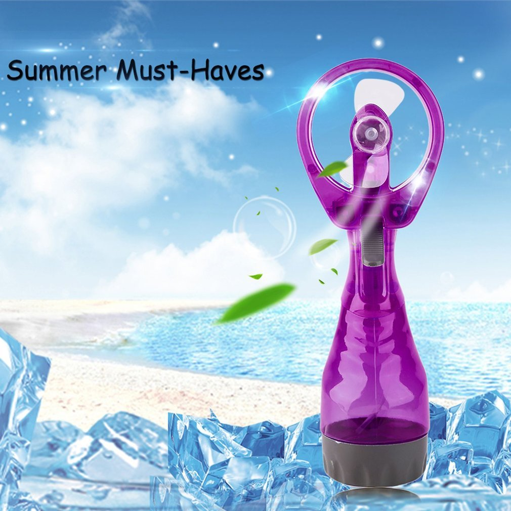 Portable Handhold Powerful Fan Mini Outdoor Mist Water Cooling Spray Fan Humidification Fan Water Fan in Fans from Home Appliances