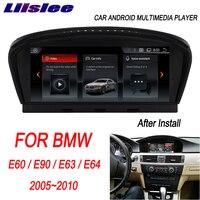 Liislee для BMW E60/E90/E63/E64 2005 ~ 2010 8,8 Android автомобильный радио мультимедиа плеер gps навигации Carplay CCC CIC Системы