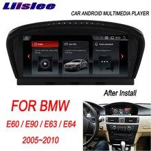 """Liislee para BMW E60/E90/E63/E64 2005 ~ 2010 de 8,8 """"Android auto Radio Multimedia Player navegación GPS Carplay CCC CIC sistema"""