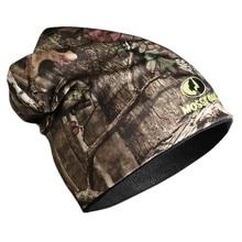Подарок! осенне-зимняя вязаная бионическая камуфляжная шапка для охоты на дерево камуфляжная шапка унисекс Двусторонняя термошапка для рыбалки