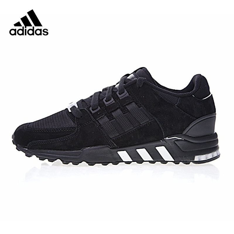 Adidas Clover EQT SUPPORT RF Men's Running Shoes, Black, Shock Absorption Wear Resistant Support Balance BB6212