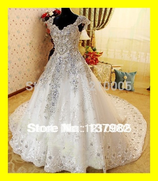 Us 310 0 Ball Gown Wedding Dress White Dresses High Street Cheap Beach Silver A Line Floor Length Cathedral Royal Train Cryst 2015 Outlet In Wedding