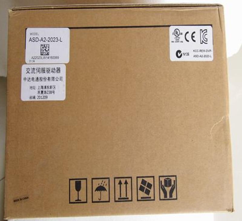 ECMA-C11020RS+ASD-A2-2023-L DELTA AC servo motor driver kits 2.0kw 3000rpm 6.37Nm 100mm frame new original detla servo driver ecma ca0602ss asd a2 seria