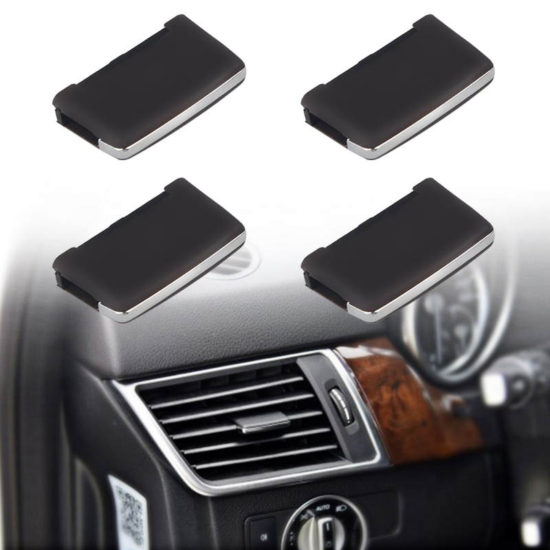 HERCHR Cross-border Dedicated for Mercedes-Benz W164 Air Outlet Grille Adjustment Sheet ML300 GL350 Air Conditioning Outlet black