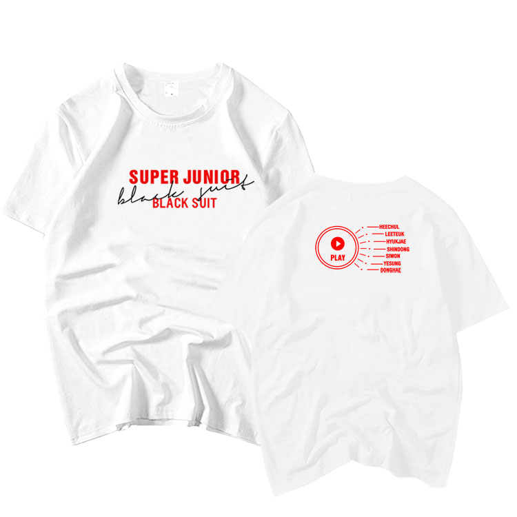Super Junior T-Shirt World tour super show 7 tshirt TEE ZD461