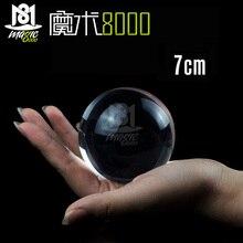 70 мм Контакт Жонглирование шар магические трюки кристально ультра чистый акриловый шар для манипуляций жонглирование