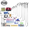 PDR Tools Kit Ausbeulen ohne Reparatur Haken Push Stangen Reverse Hammer Dent Lifter Puller für Entfernen Auto Dent Reparatur Hagel schaden