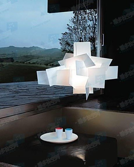 90cm Large White New Contemporary Red Modern Bang Pendant Lamp Lighting Light Chandelier