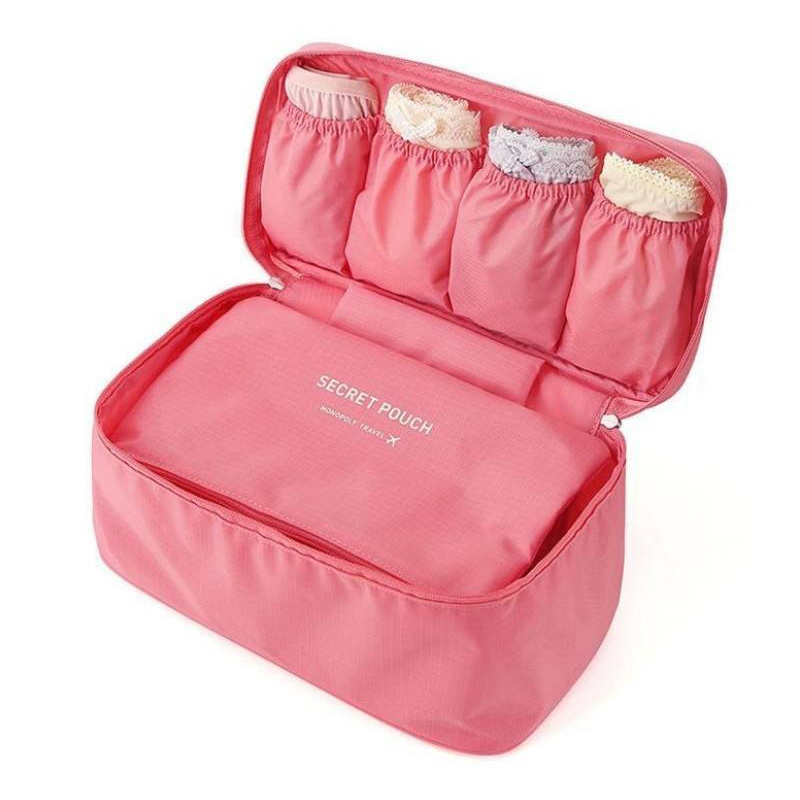 SAFEBET Underwear Organizer Makeup-Storage-Box Travel Waterproof Cosmetic-Bag Bra