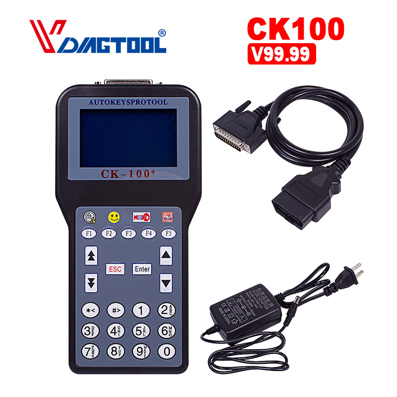 New Generation Of SBB CK100 V99.99 Auto Key Programmer CK 100 Support Multi-languages OBD2 Car Key Programmer By Free China Post