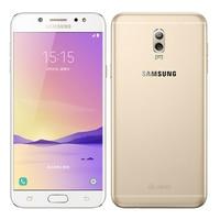 Débloqué Original Samsung Galaxy C8 C7100 16MP Avant Caméra double sim Octa base 3G RAM 32G ROM Android 7.1 Lte 4G Mobile téléphone