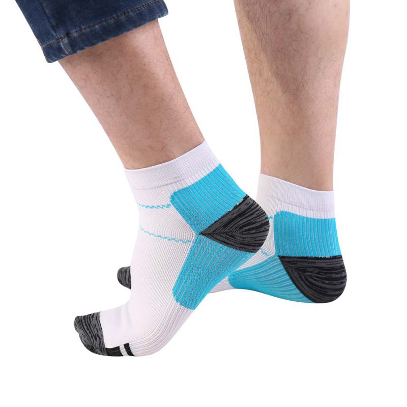 dc73e04a02 Foot Compression Socks for Men Women Plantar Fasciitis Heel Spurs Arch Pain  Casual Unisex Sock Venous Newest Breathable Man Sox -in Men's Socks from ...