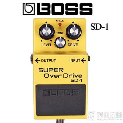 цена на Boss Audio SD-1 Super Overdrive Pedal