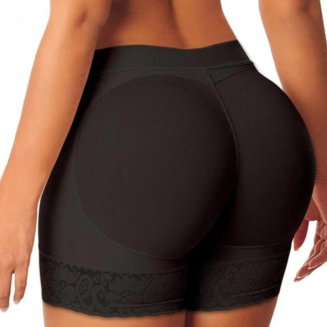 454a88e2212 2019 Sexy Women mid rise booty Butt Enhancer padded hip and buttock hip  booster padded panty