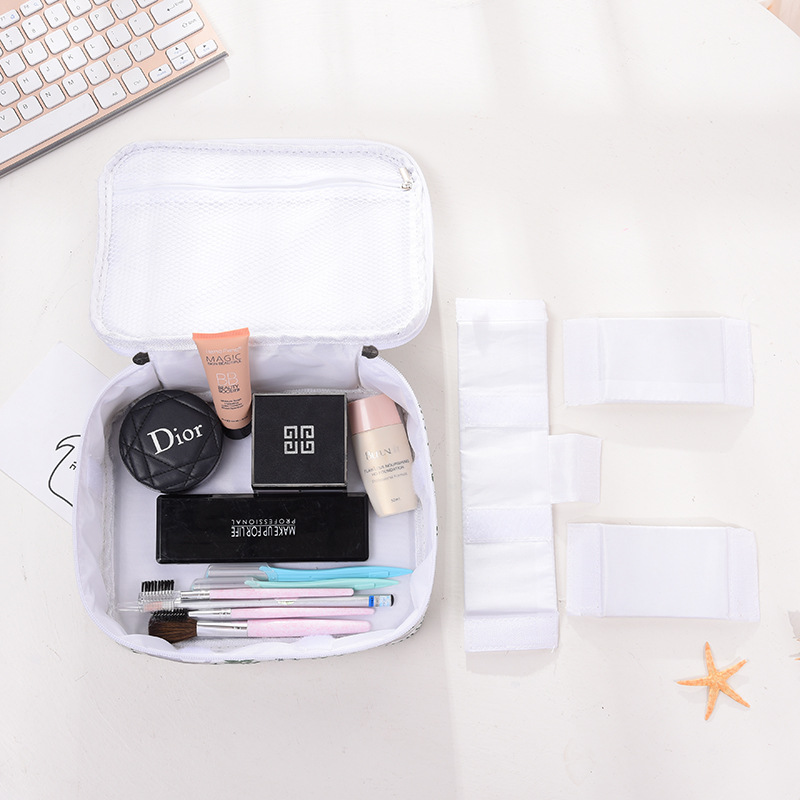 2019 New Large-capacity Creative Makeup Bag Multi-function Travel Portable Wash Bag Girl Storage Box