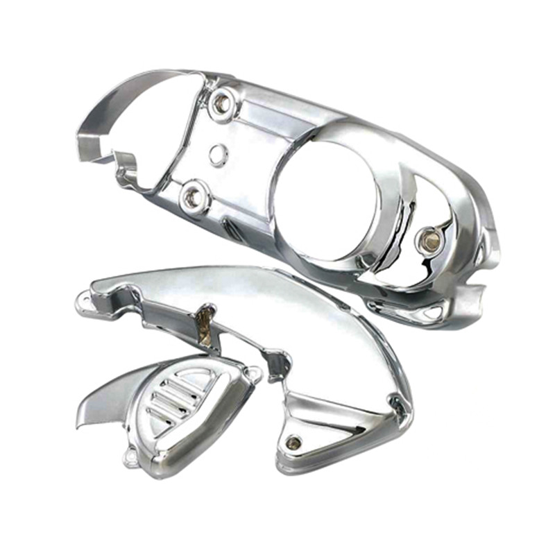 Motorcycle accessories For Suzuki Address V125g motorcycle scooter chrome Engine Cover Air filter Cover full set