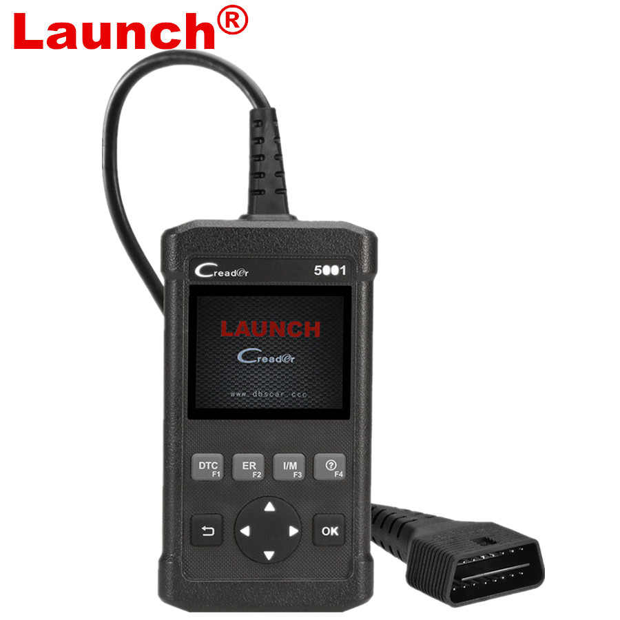 цена Launch CReader 5001 Code Reader Full OBDII/EOBD Diagnostic Functions Scan Tool
