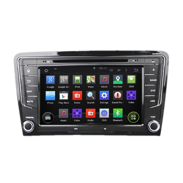 8 Inch Android 5 1 Quad Core HD1024 600 Car DVD Player GPS For VW For