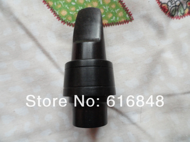 Free Shipping High Quality Ebony Jazz Classical Straight Pipe Soprano B(B) Tune Saxophone Professional Mouthpiece Size 7 saxophone mouthpiece accessories red sandalwood ebony jazz classical straight pipe soprano saxophone mouthpiece ecru size 7
