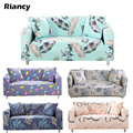 Elastic Sofa Cover Flower Slipcover Tight Wrap All-inclusive Slip-resistant Spandex Furniture Single/Two/Three/Four Seat 006