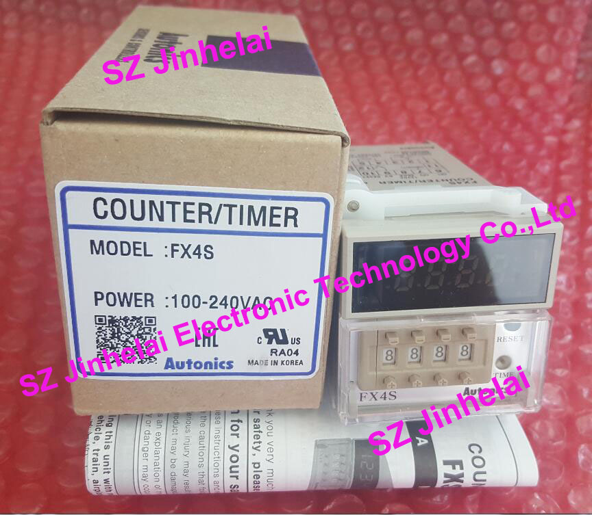 New and original  FX4S  AUTONICS  COUNTER TIMER  100-240VAC