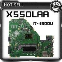 ללוח האם Asus A500L A550LA R510L R510LA X550L X550LA REV2.0 האם X550LD Mainboard עם i7-4500U HD 4400 100% עבודה