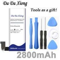 Da Da Xiong 2800mAh batterie pour Apple iphone 4 pour iphone 4g batterie + outils gratuits