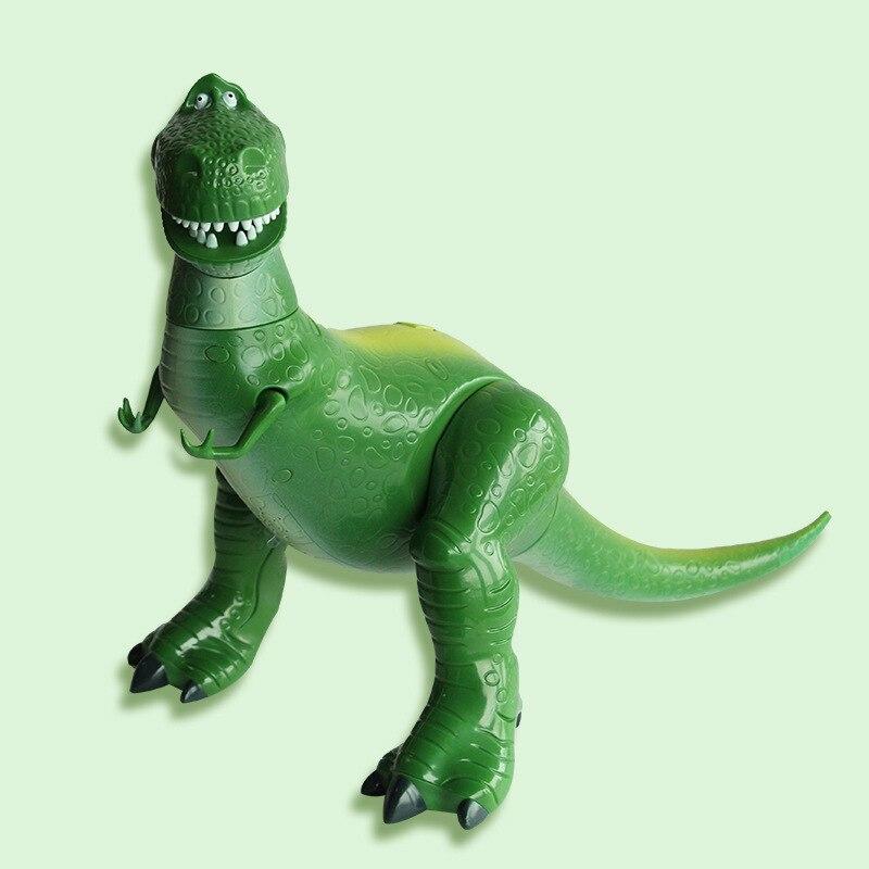 Film jouet histoire 4 dessin animé tenir le Dragon parlant jouets Buzz Lightyear Rex figurine à collectionner modèle poupée enfants