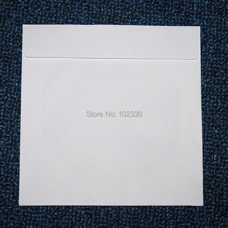 5000 stücke 12,5*12,5 cm Weiß Platz Disc CD Hülse Kraft Papier DVD Tasche Abdeckung Verpackung Umschläge Typ Pack taschen-in Geschenktüten & Verpackungs-Zubehör aus Heim und Garten bei  Gruppe 3