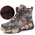 2017 New Arrival Winter Ecology Camouflage Lace Men Sneakers Outdoor Keep Warm Cotton Shoes Desert Tactical Army Men Boots