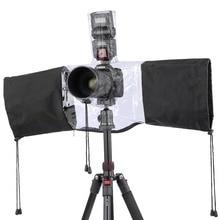 Профессиональный Камера Водонепроницаемый непромокаемые пыленепроницаемый дождевик протектор для Камера Nikon Canon Зеркальные фотокамеры Бесплатная доставка