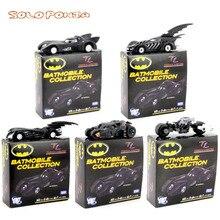 Batman car Batmobile 6 pieces 6-8 cm Alloy Bat man Car Model