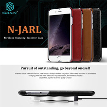 NILLKIN 2 in 1 N-JARL Case for iPhone 6 6s 6 Plus 6s Plus Litchi PU Skin PC Protective Case with QI Standard Wireless Charge