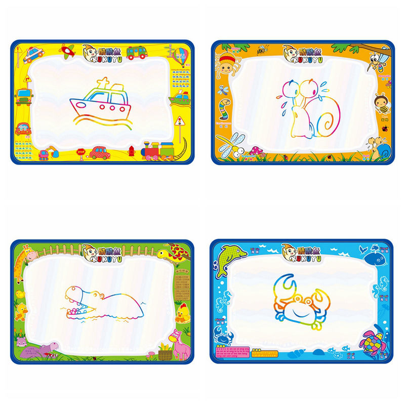 50x30cm Newly Kids Drawing Toys Baby Add Water With Magic Pen Doodle