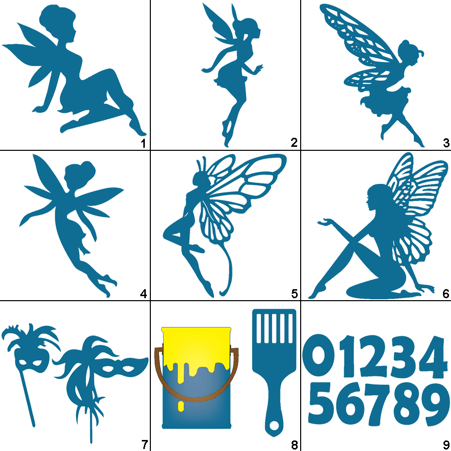 Fairy Cutting Dies Metal Stencil For DIY Scrapbooking Paper Card Embossing Craft