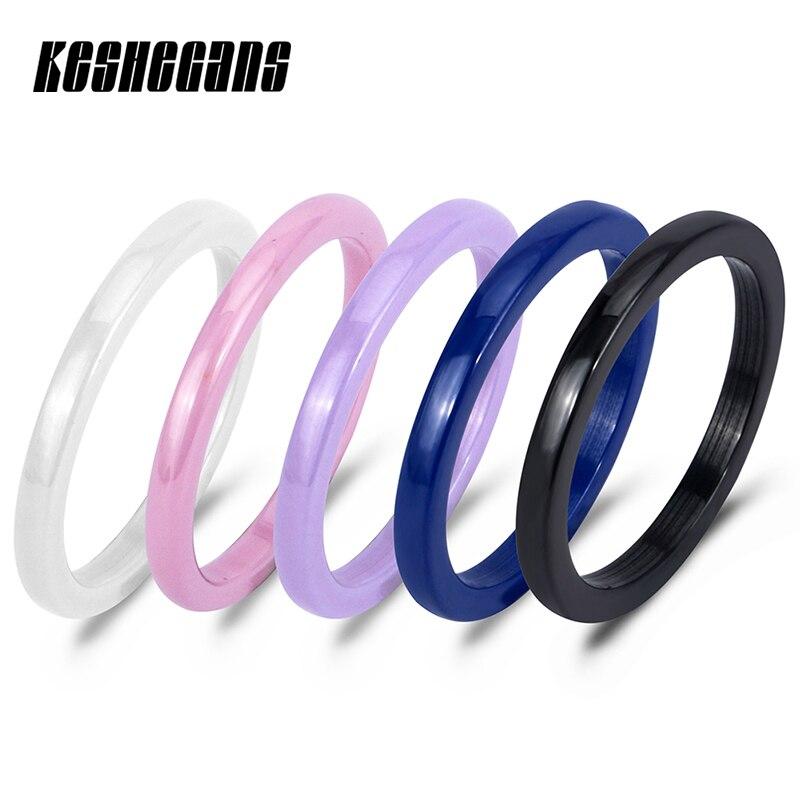 Fashion Space Ceramic Ring Simple Tail Ring Of Women
